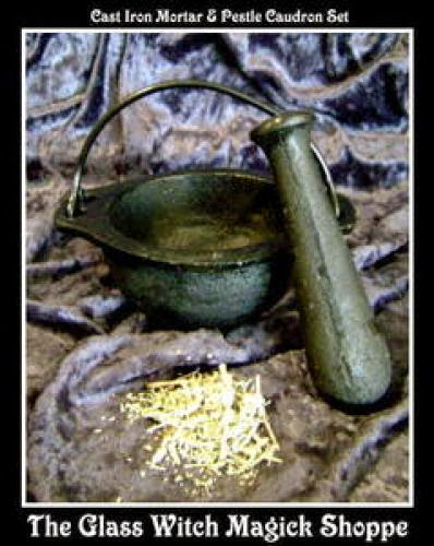 Cast Iron Mortar And Pestle Cauldron 20 00