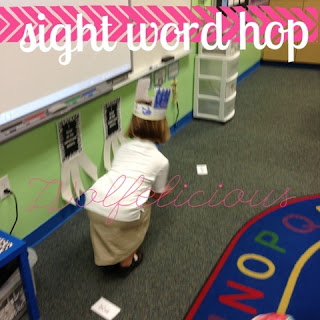 Photo of Sight Word Hop Wolfelicious
