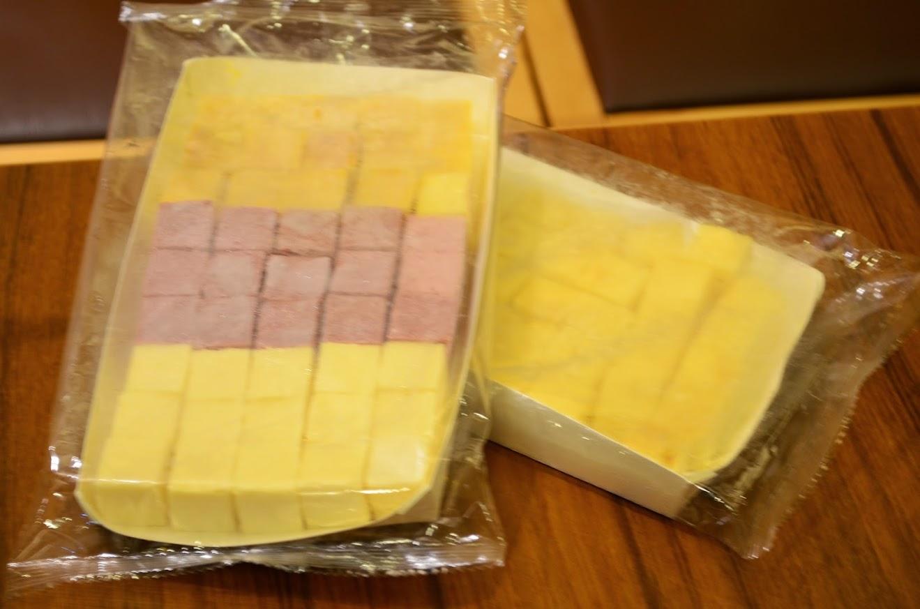 キューブアイスチーズケーキフルーツ