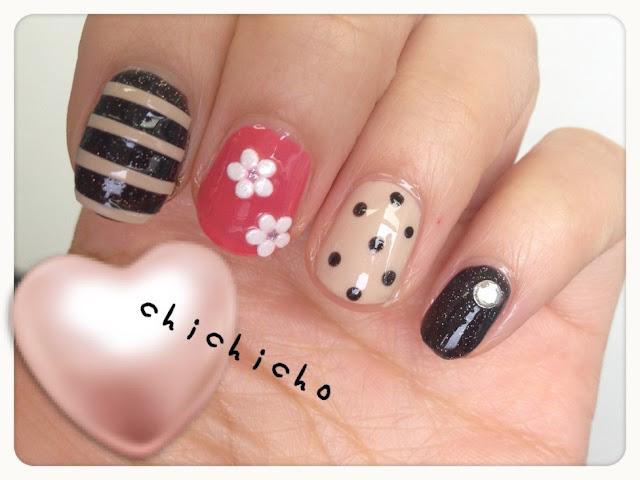 Girly Nail Art from es...