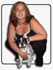 Sandrine, trésorière de l'association Rescue Boule