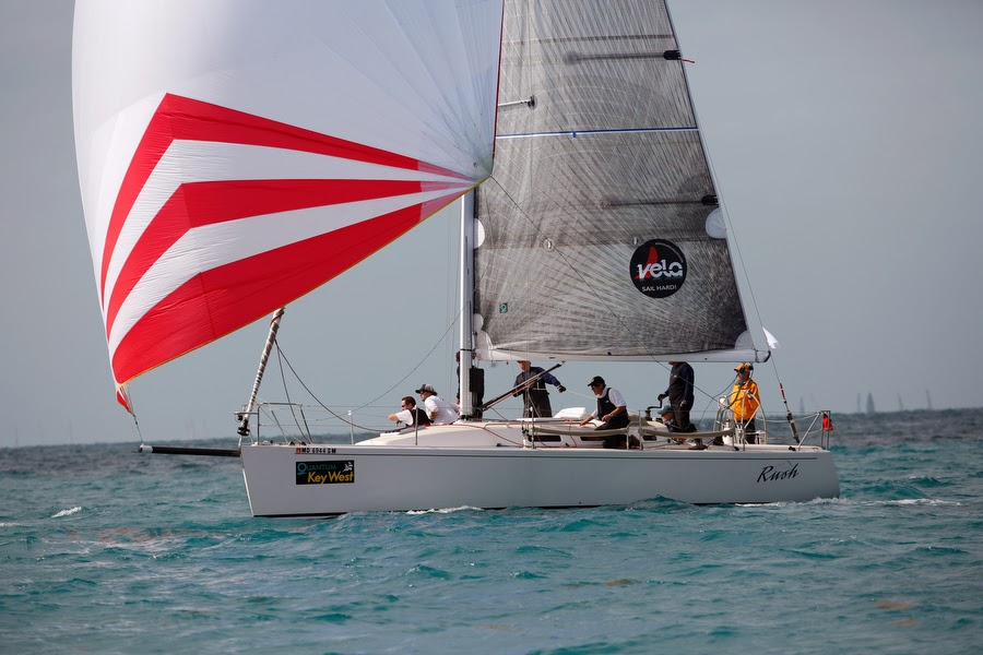 J/109 RUSH sailed by Bill Sweetser- class champion