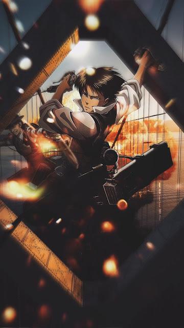 levi ackerman di attack on titan shingeki no kyojin