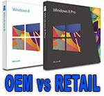windows OEM vs RETAIL Licenţa Microsoft Windows   RETAIL vs OEM