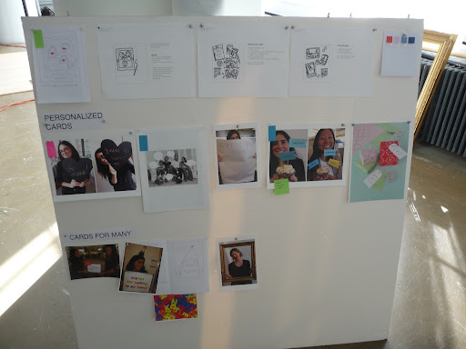 We referred to our inspiration board throughout the shoot.
