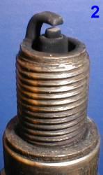 Свеча от двигателя с повышенным расходом топлива