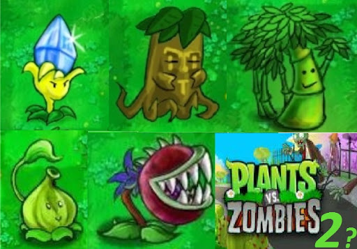 new plants in pvz 2