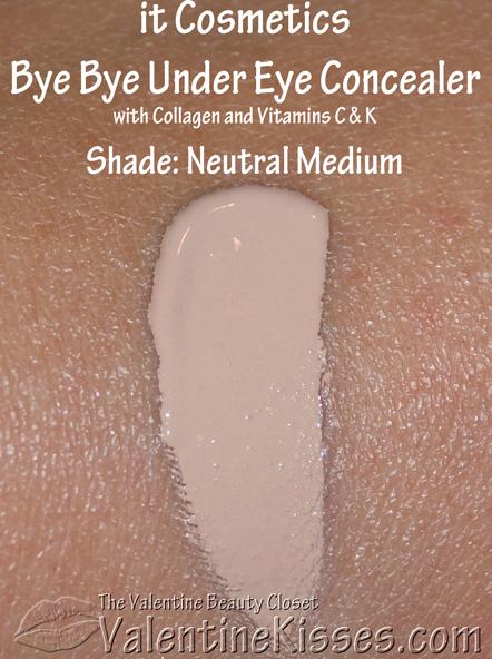 Valentine Kisses: it Cosmetics Bye Bye Under Eye Concealer ...