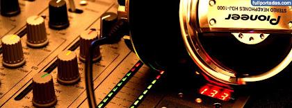 Portada para facebook de Mixer audifonos pioneer