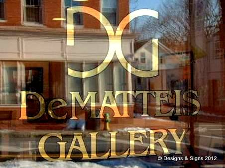 glass gilding - dematteis gallery annapolis