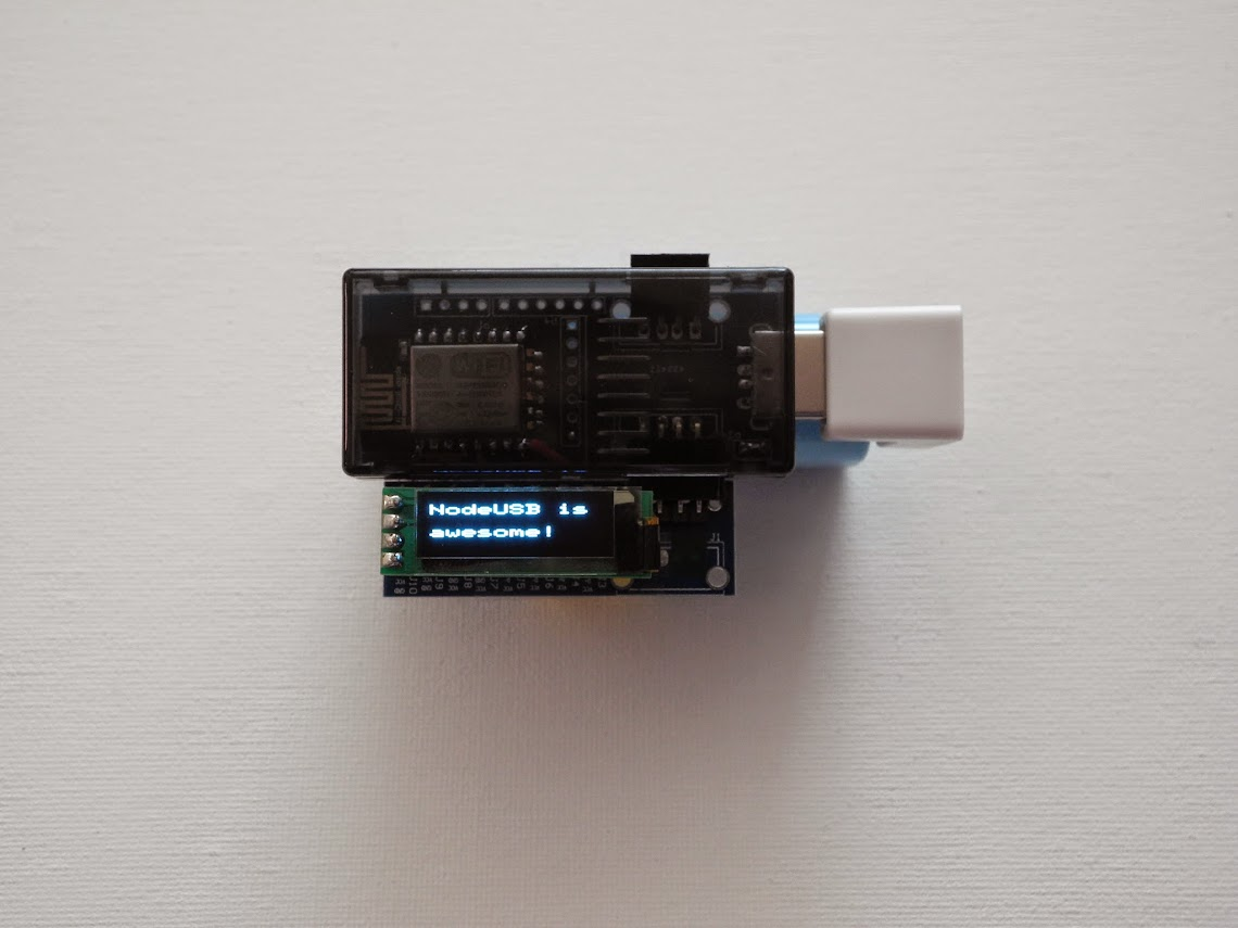 NodeUSB:Low cost,'Eat Your own dog food' WiFi DevKit for IoT