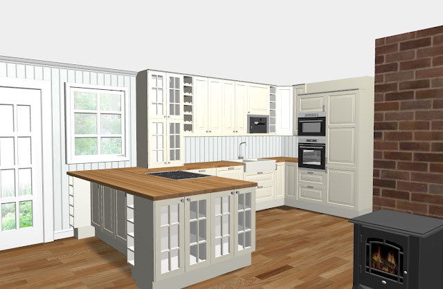 Panel eller sponplater bak kjøkken?   byggebolig.no