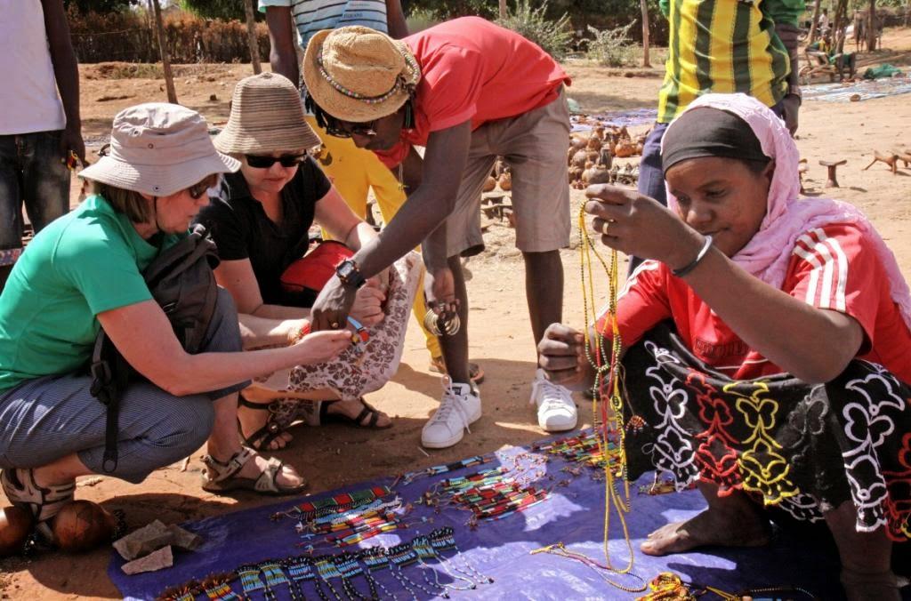 Genciu turgus pietu Etiopijoje