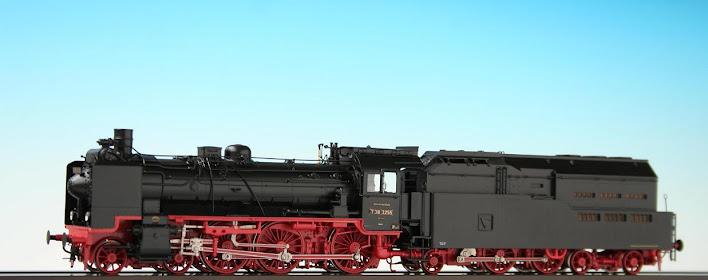 Modeli parnih lokomotiva DRG 04602H-Lv