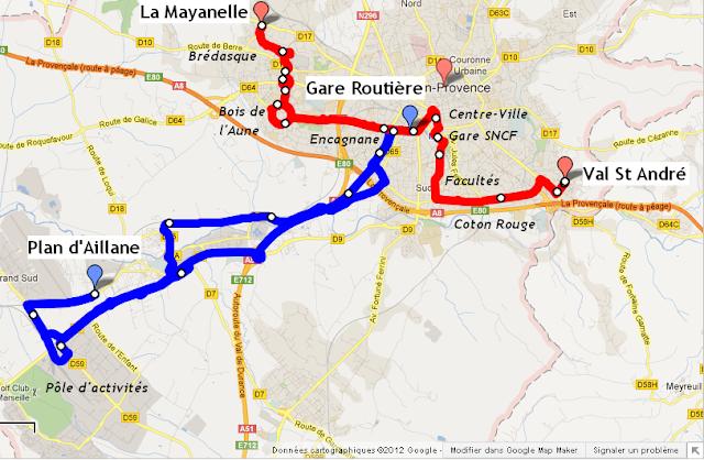 Pays d 39 aix transports le portail des transports - Ligne bus avignon ...