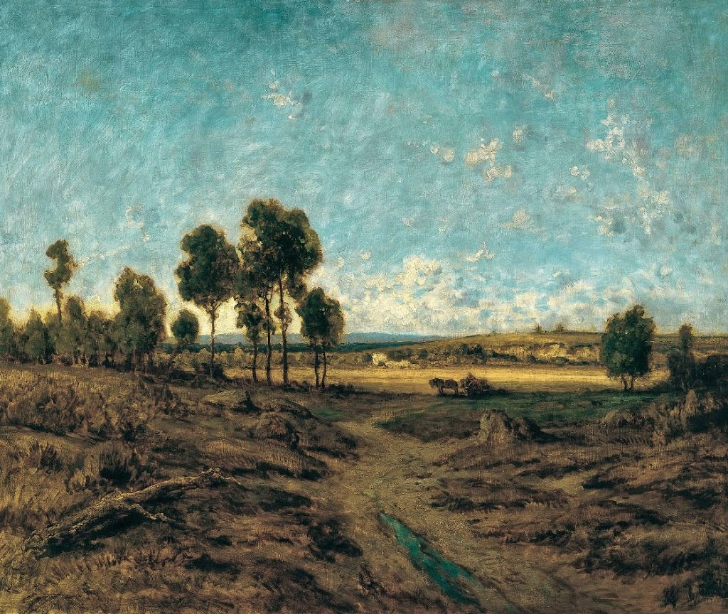 Théodore Rousseau - View of the Plain of Montmartre