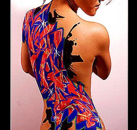 New Graffiti Body Art Show  POPSUGAR Beauty