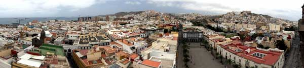 Las Palmas de Gran Canaria, panorámica