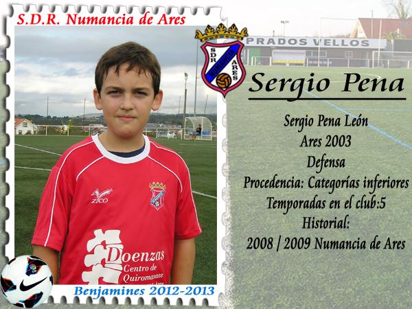 ADR Numancia de Ares. Sergio Pena.