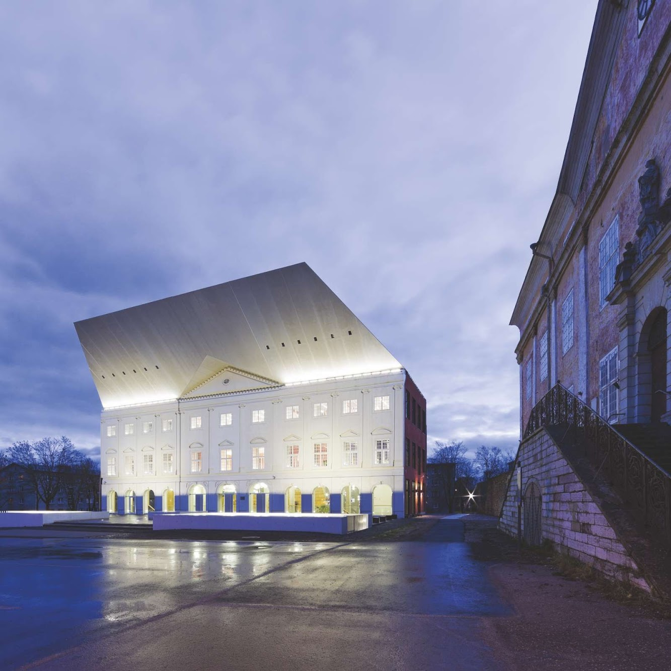 Narva, Estonia: University of Tartu Narva College by Kavakava Architects