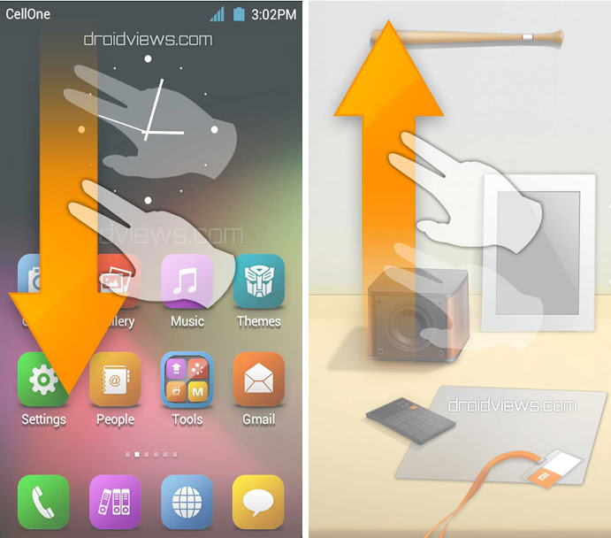 Warm Space Animated Desktop Theme for MIUI V4/JB | DroidViews