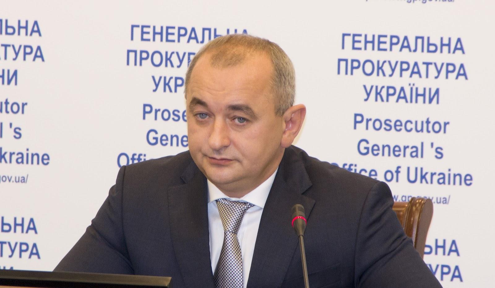 Анатолий Матиос. Фото: пресс-служба Генпрокуратуры