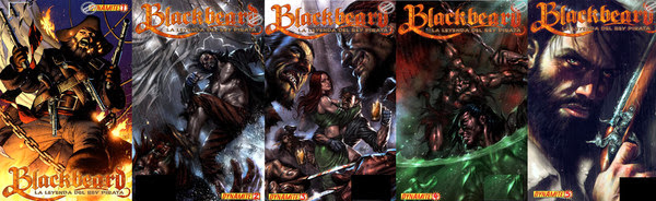 Blackbeard - La leyenda del rey pirata [1-5][C�mic][Espa�ol]