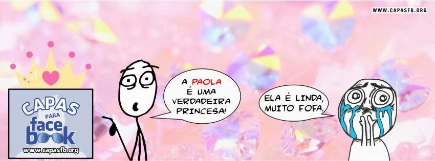 Capas para Facebook Paola