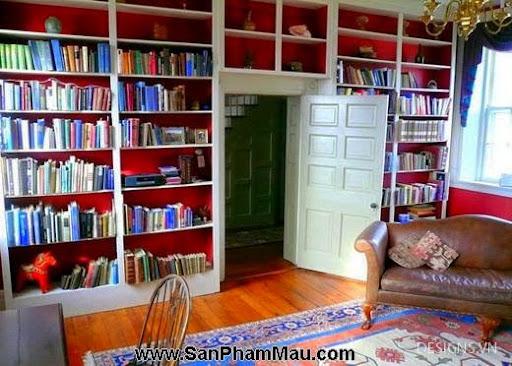 Các mẫu thiết kế nội thất phòng đọc sách P1-21