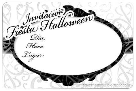 Invitación para Fiesta de Halloween.