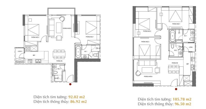 Thiết kế căn hộ Sunshine City Ciputra Tây Hồ Hà Nội