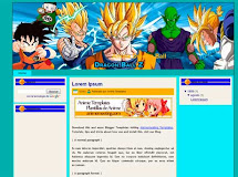 "Dragon Ball ""Plantilla de Anime para Blogger"""
