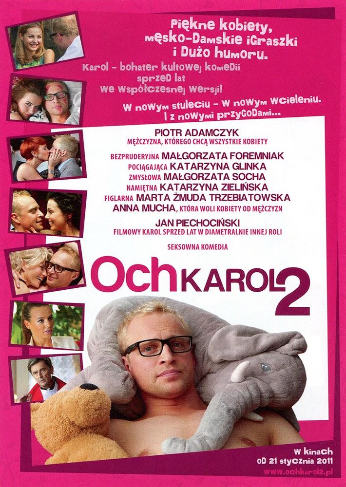 Ulotka filmu 'Och, Karol 2 (tył - wersja B)'