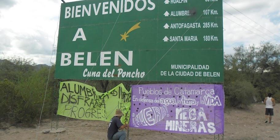 belen catamarca represion no a la mineria