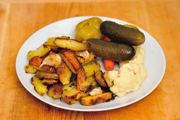 Razvan Anton cartofi crocanti la cuptor cu muraturi