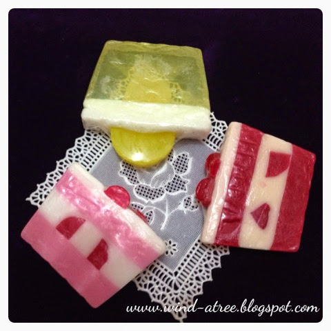 Bubble Soap - Art of Natural and Glycerin Soap, Sabun homemade dengan desain yang lucu-lucu