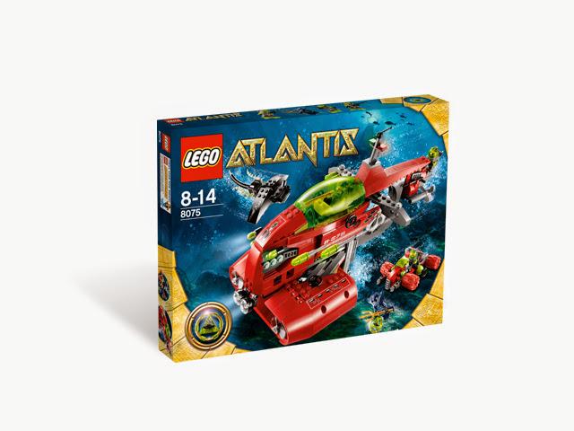 8075 レゴ アトランティス ネプチューン・キャリア