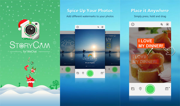 WeChat StoryCam App