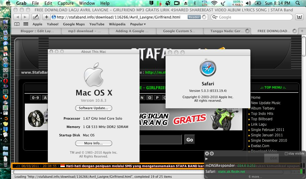 Le Remends You Upgrade To Os X 10 6 8 Even Though It Isn T Out Yet