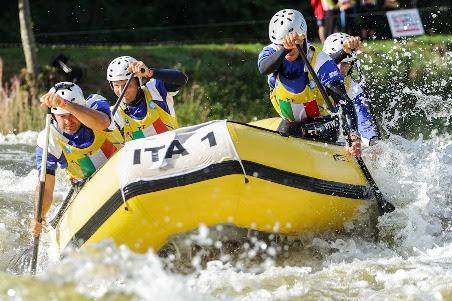 Conto alla rovescia per la quinta e ultima tappa dell'Italian Rafting Cup