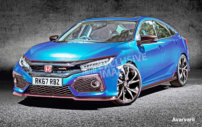 The New 2017 Honda Civic Type R horsepower 340bhp
