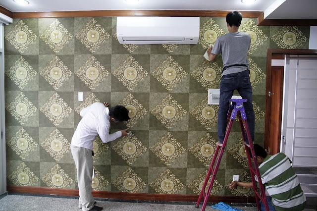 Đơn hàng nội thất dán giấy tường cần 6 nam làm việc tại Kyoto Nhật Bản tháng 12/2017