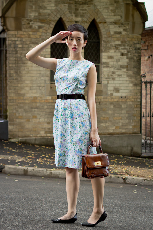 NoraFinds | Vintage Fashion Blogger Sydney | 1960s Summer Wiggle Dress
