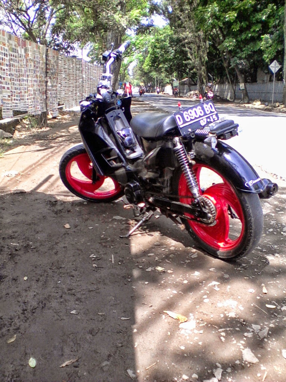 modifikasi suzuki shogun 110