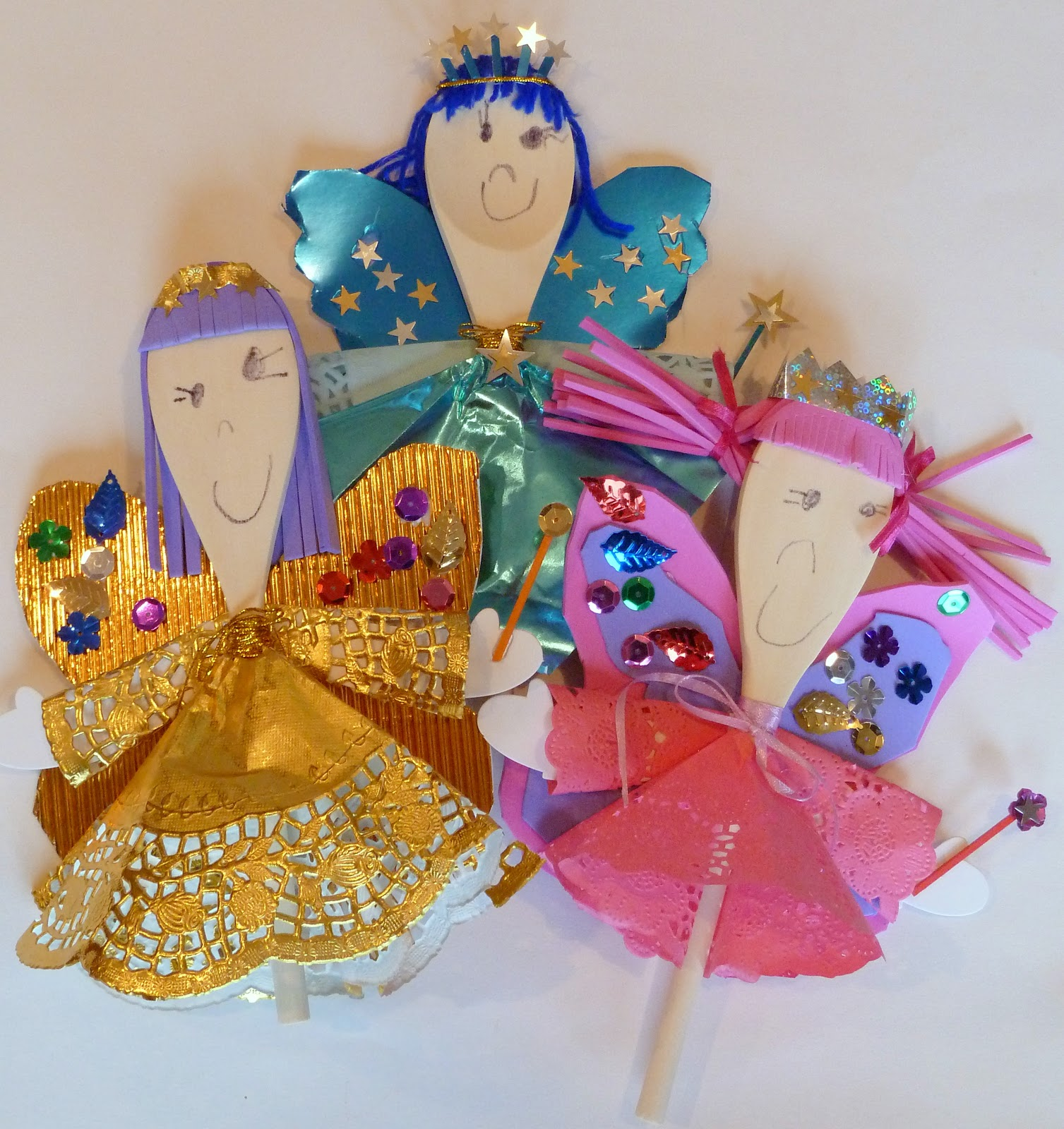wooden spoon princess craft simply link amp wooden spoon puppets kid craft 5784