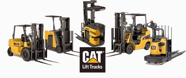 xe nang caterpillar cat lift truck