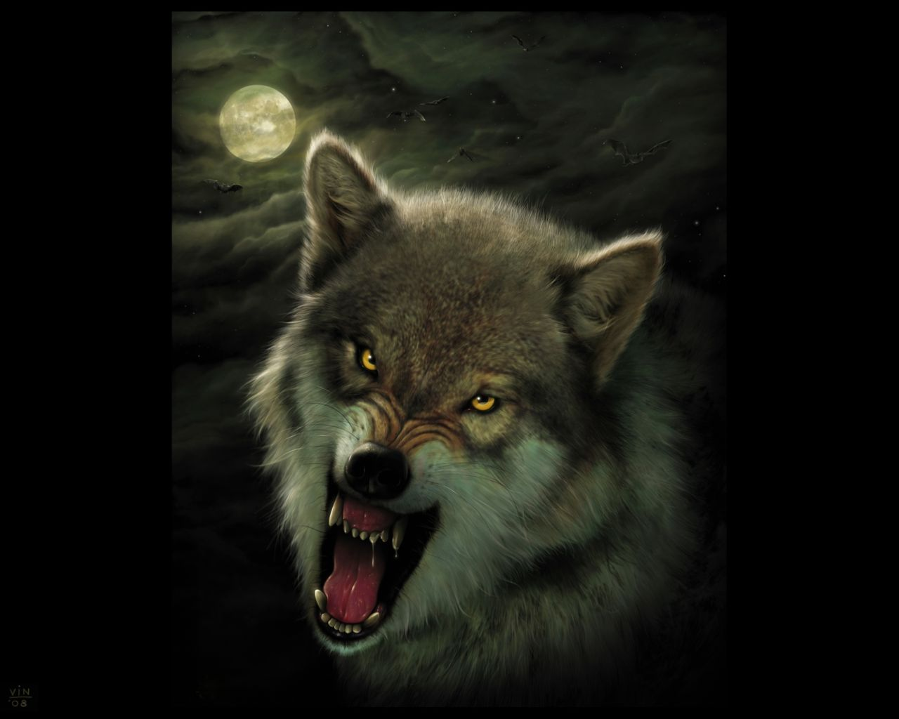 Angry Wolf Cover photo Angry Black Wolf Drawing