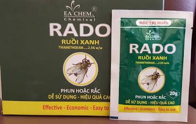 Hóa chất diệt ruồi Rado