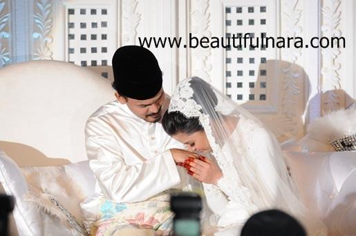 Lisa dan Yusri bernikah