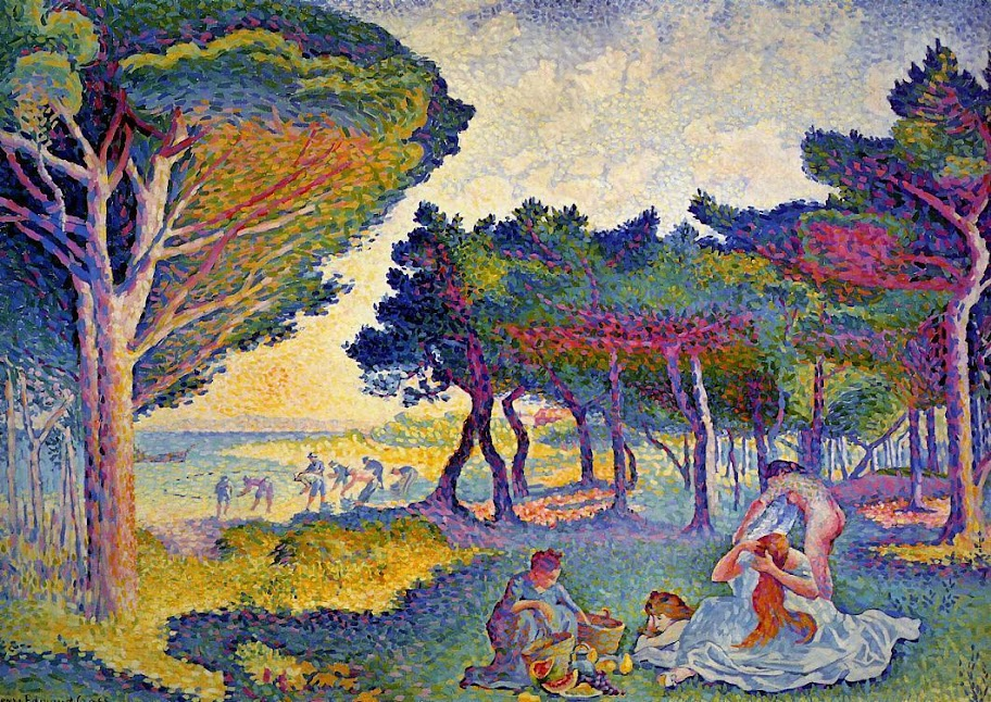 Henri-Edmond Cross - By the Mediterranean